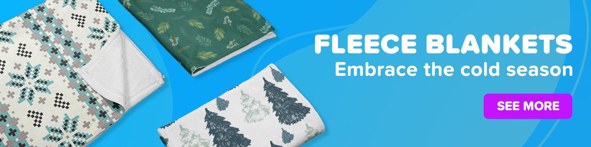 Fleece Blankets TeeChip