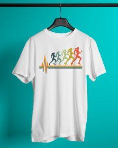 Running Heartbeat Vintage Classic T-Shirt