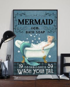 Wash Your Tail Vertical Poster