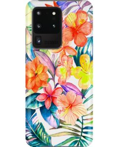 Women's Floral Tropical Flower Print Phone Case Samsung Galaxy S20 Ultra