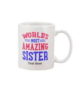 Personalized gifts for sister