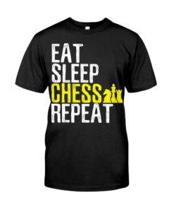 Eat Sleep Chess Repeat T-Shirt Classic T-Shirt