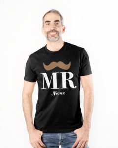 Mr personalized Premium Fit Mens Tee