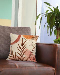 Terracotta Garden Square Pillowcase