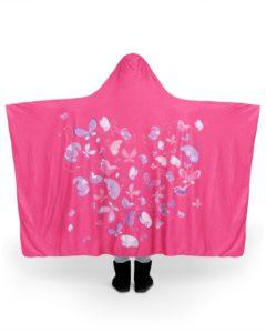 Butterfly Hooded Blanket