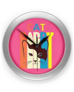 Cat Daddy Clock