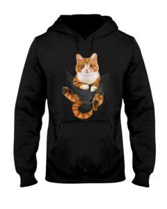Cat In Big Pocket Hoodie