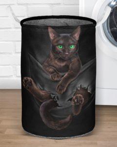 Cute Cat Laundry Basket