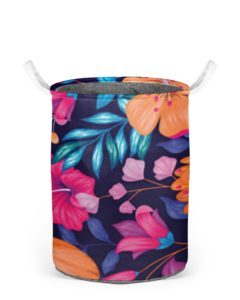 Laundry basket Flower Print