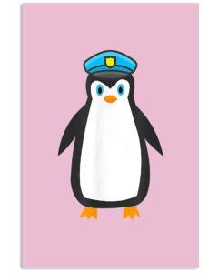 Penguin Police Vertical Poster