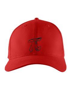 Pi Symbol Embroidered Hat