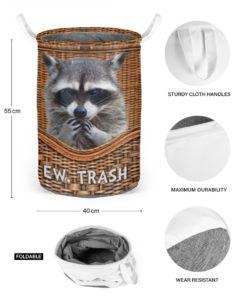 Racoon Laundry Basket