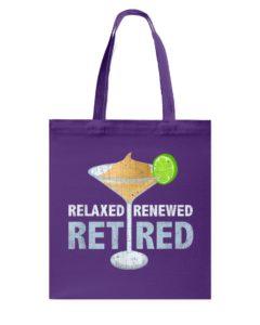 Retired Margarita Tote Bag