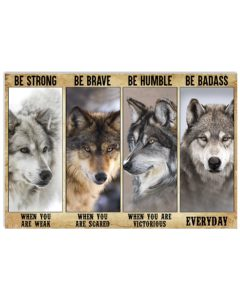 Wolf Be Strong