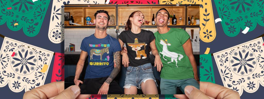 Custom Animal Shirts for Cinco de Mayo
