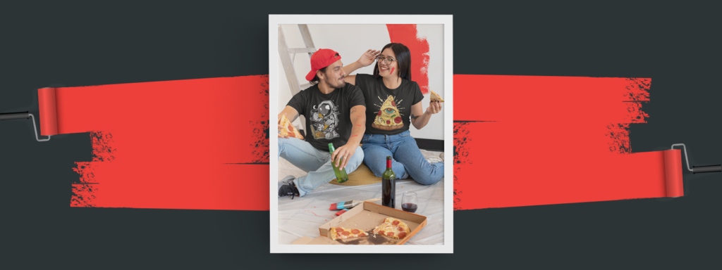 Pizza shirts, gifts for foodies
